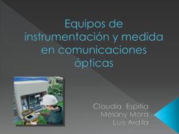 expo fibra optica - Seminario-FO-UIS-2009