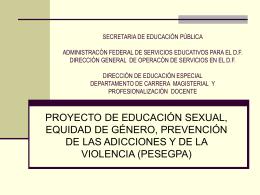 SECRETARIA DE EDUCACIÓN PÚBLICA DIRECCIÓN