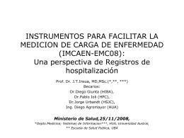 Bases de Datos e Investigación Clinica