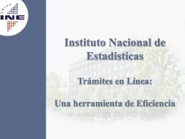 Documento de apoyo Sr. Jaime Espina, INE