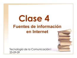 Clase N° 2 - Página de Tecnología de la Comunicación