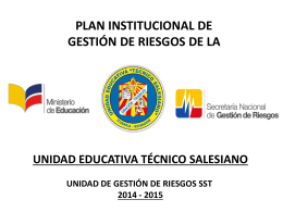 Descargar diagrama aquí - Unidad Educativa Técnico Salesiano