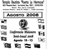 8/10/08 - Puerta La Hermosa