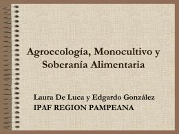 AGROECOLOGÍA, Orígenes, Conceptos y Principios