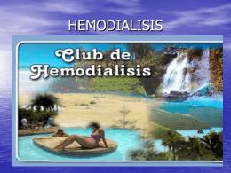 PRINCIPIOS DE HEMODIÁLISIS.