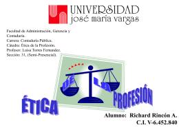 PRINCIPIOS CONDUCTA PROFESIONAL
