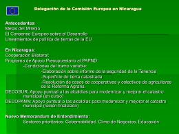 Maria Dolores Monge - Comisión Europea