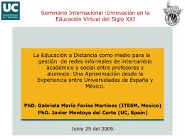 Presentación Tesis Comisión Investigación DAE-UC