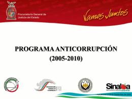 Programa Anticorrupción