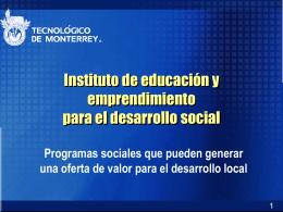 IDESS - Centro Virtual de Aprendizaje