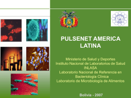 Laboratorio de Bacteriología clínica