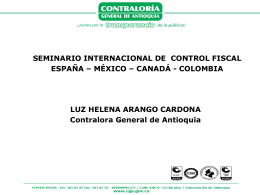 Celabración 80 años - Contraloría General de Antioquia