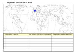 Présence française dans le monde