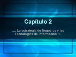 Capítulo 2 - Sistemas de Información Administrativa
