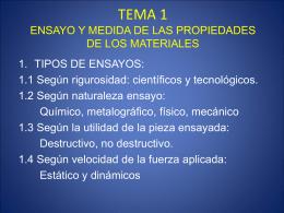 tema 1 ensayo y medida de las propiedades de los materiales