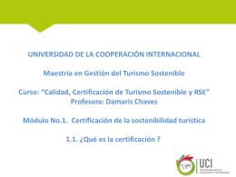 1.1 Introducción a la certificación