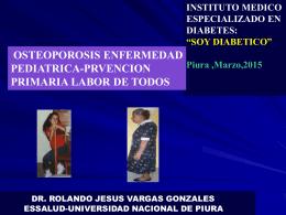 osteoporosis enf pediatrica.prevencion primaria labor de todos