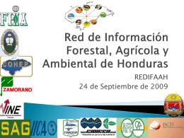 Red de Información Forestal, Agrícola y Ambiental de Honduras
