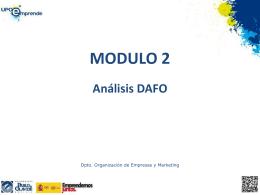 Análisis DAFO