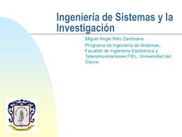 Diapositivas - Grupo de I+D en Tecnologías de la Información