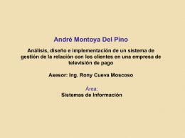 Sustentacion - André Montoya
