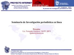 La World Wide Web - Fernando Gutiérrez :: Tecnología y Sociedad