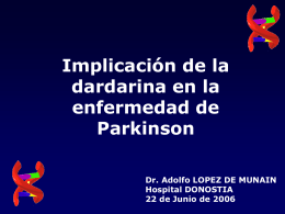 Molecular studies in Parkinson`s disease
