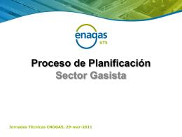 3. Planificación del Sistema Gasista - CNO-Gas