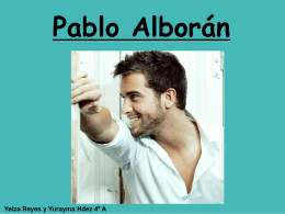 Pablo Alborán - WordPress.com
