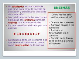 enzimas - CEIUCAWeb