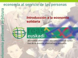 Los principios de la economía solidaria
