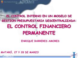 FISCALIZACIÓN PREVIA PLENA. * Fiscalización previa plena