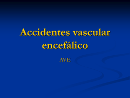 Accidentes vascular encefálico