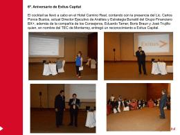 6º. Aniversario de Exitus Capital