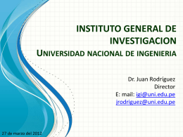 total - Universidad Nacional de Ingeniería