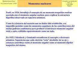 """En """"núcleos"""" - Departamento de Física"""