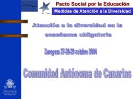 Pacto Social por la Educación Medidas de