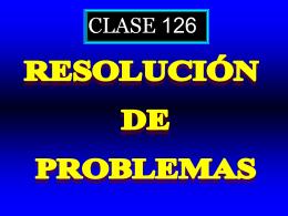 Clase 126: Rresolución de Problemas - CubaEduca