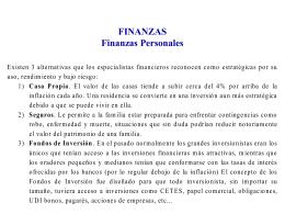 finanzas - Paginas Prodigy