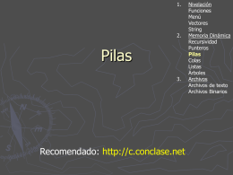 Pilas - Prof. Gabriel Matonte