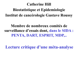 Présentation de Catherine Hill - TRT-5