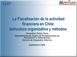 Presentación Seminario Fiscalización Area Financiera 01.09.06
