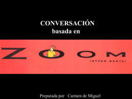 CONVERSACIÓN basada en