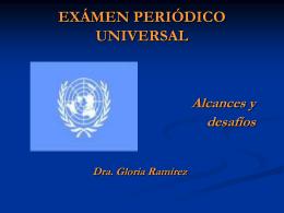 Consejo de Derechos Humanos - Cátedra Unesco de Derechos