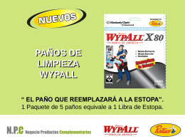 Wypall X80 - Almacén del Pintor Colombia