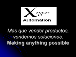 XAGUAR AUTOMATION