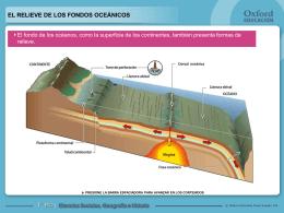 Relieve de los fondos oceánicos