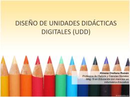 unidades didacticas digitales