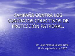 Presentac1 - Campaña Internacional Contra los Contratos