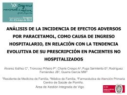 Resultados - XX Congreso Nacional de Medicina General y de